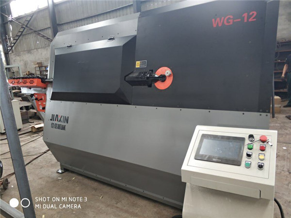 4-12mm الهيدروليكية التلقائي CNC 2D سلك الانحناء آلة المورد
