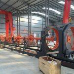 cnc الصلب قفص لحام آلة الصلب لفة التماس لحام تستخدم لبناء