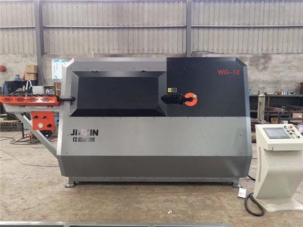 الصين الصانع 4-12mm التلقائي CNC أسلاك الفولاذ مراقبة ، آلة حديد التسليح الانحناء