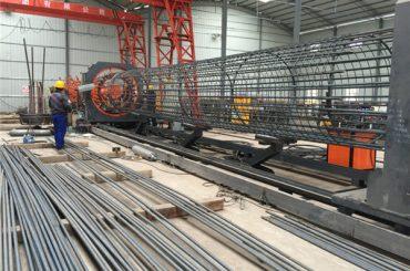 صنع في الصين عملية بسيطة دائم وقوي ضمان الجودة آلة لحام قفص حديد التسليح وتعزيز قفص صنع